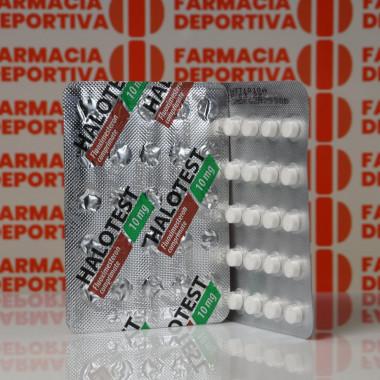 Halotest 10 mg Balkan Pharmaceuticals