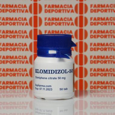 Klomidizol-50 50 mg Sopharma