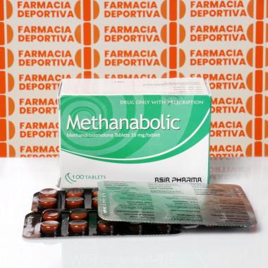 Methanobolic 10 mg Asia Pharma | FDC-0323