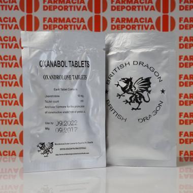 Oxanabol 10 mg British Dragon Pharmaceuticals | FDC-0196