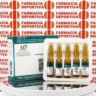 Test P ( Testosterone Propionate) 100 mg Magnus Pharmaceuticals | FDC-0262